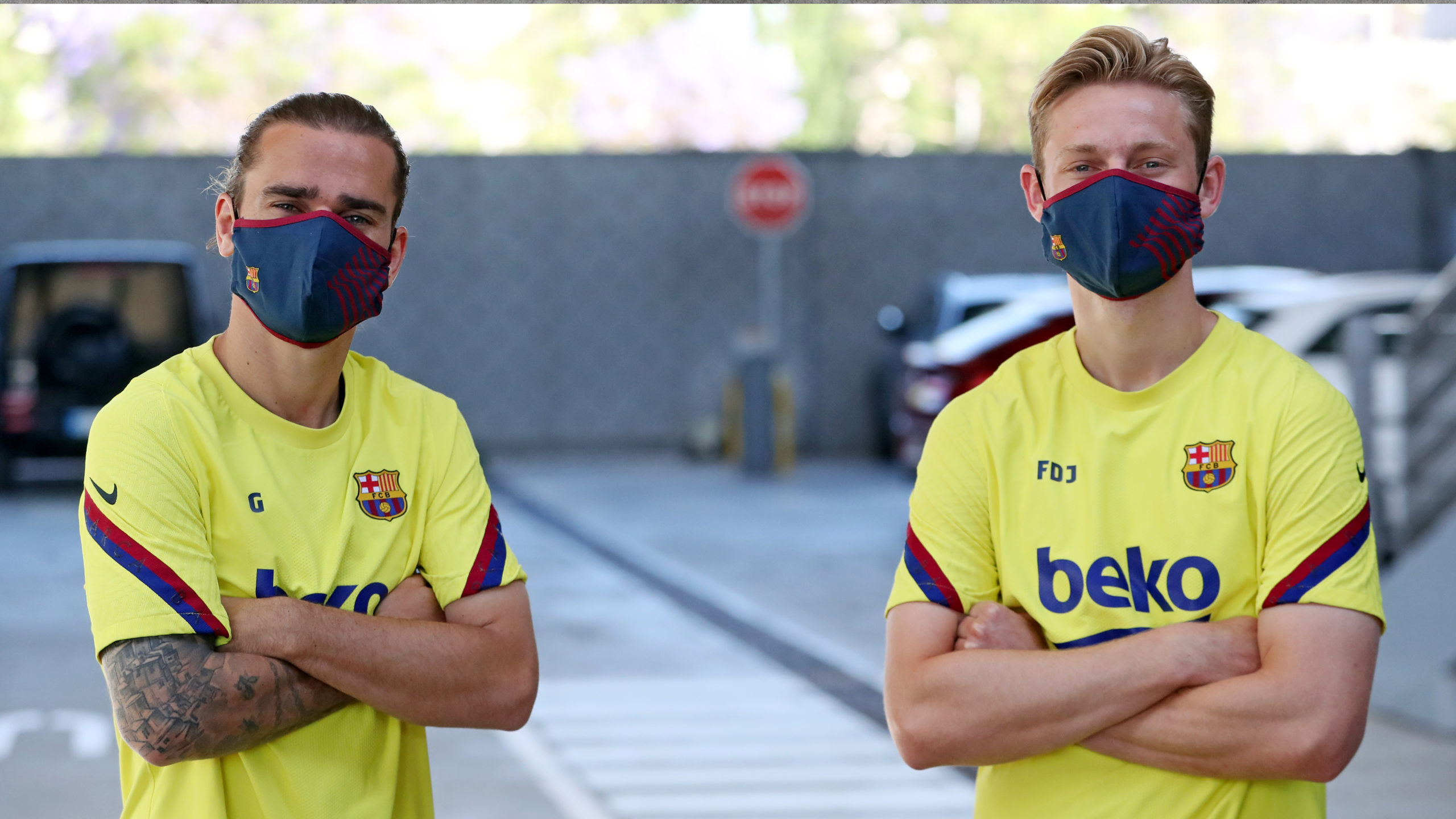 BARÇA OFFICIAL MASK